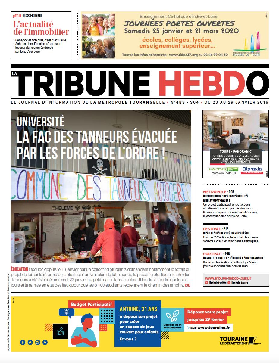 Tribune Hebdo Tours N°483
