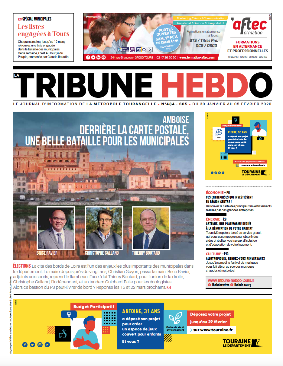 Tribune Hebdo Tours N°484