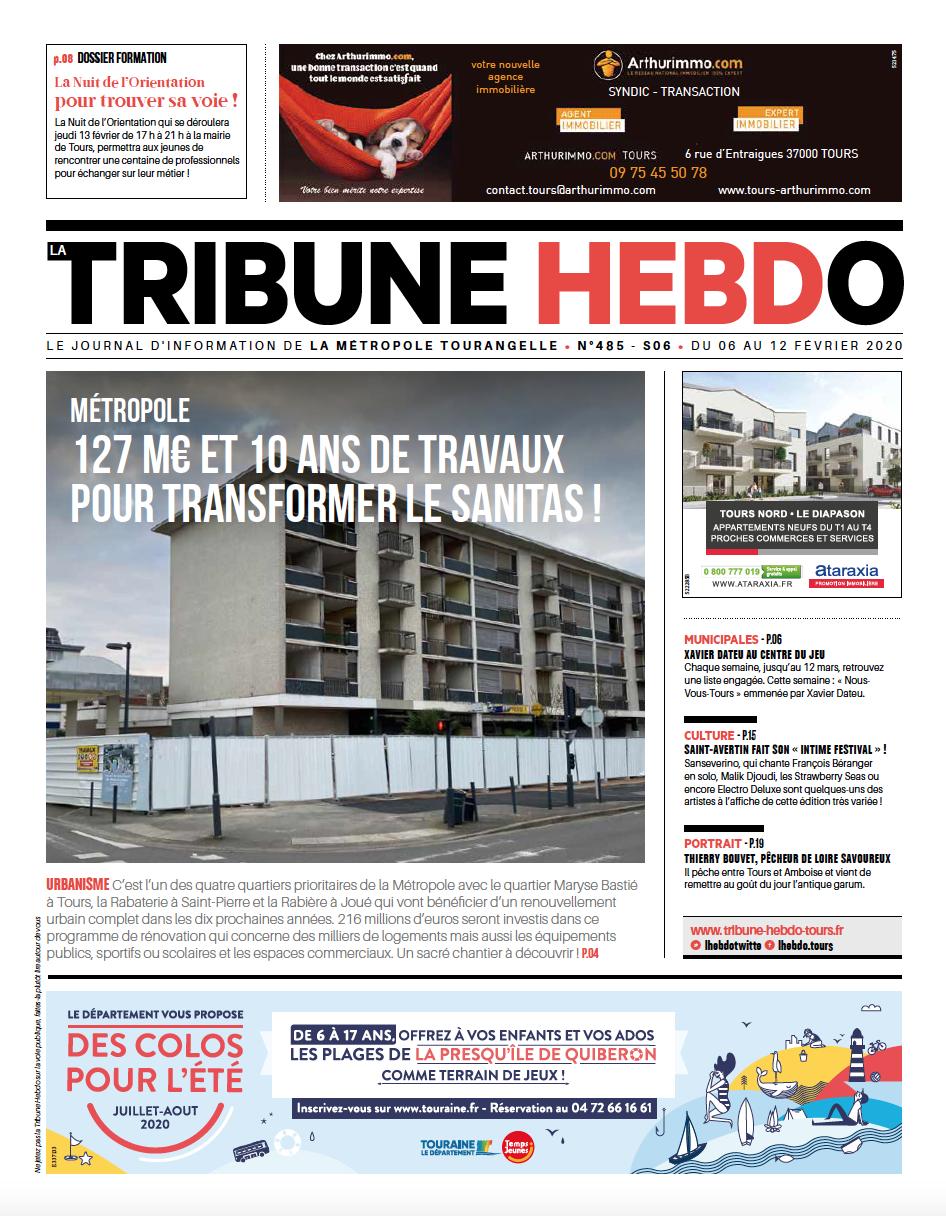 Tribune Hebdo Tours N°485