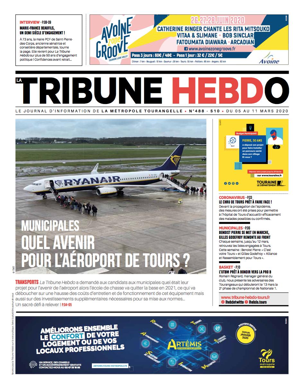 Tribune Hebdo Tours N°488