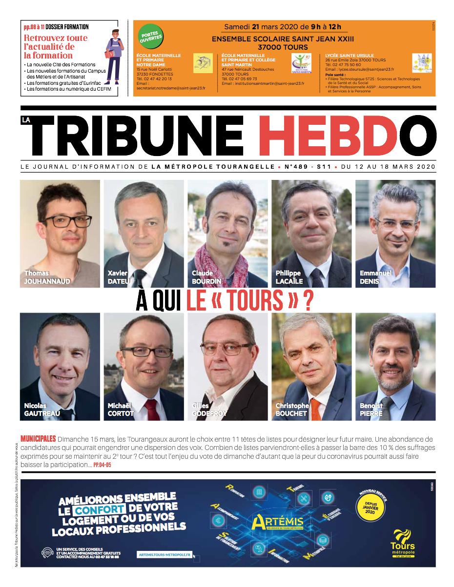 Tribune Hebdo Tours N°489