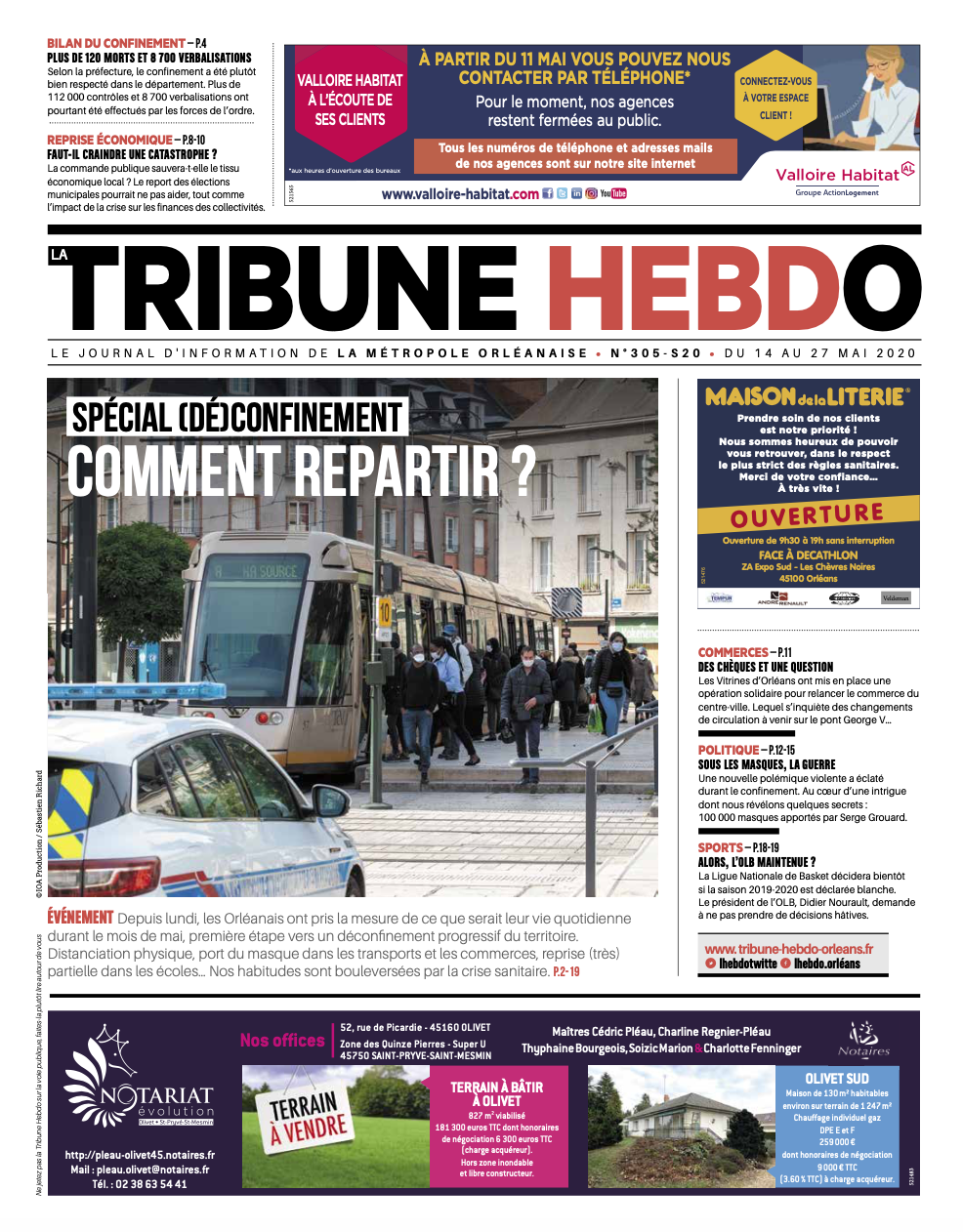 Tribune Hebdo N°305