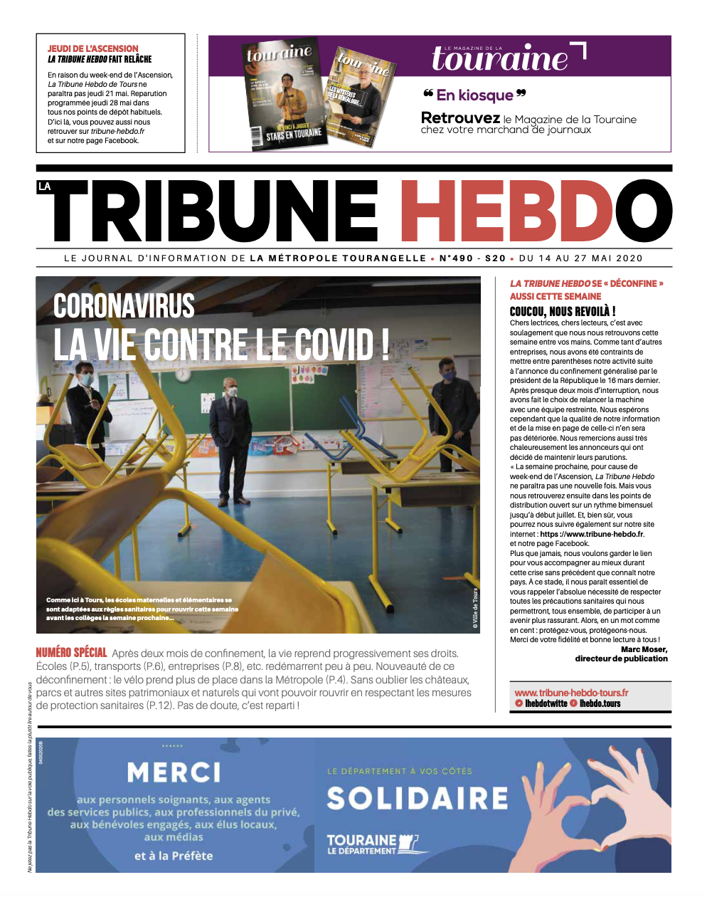 Tribune Hebdo Tours N°490