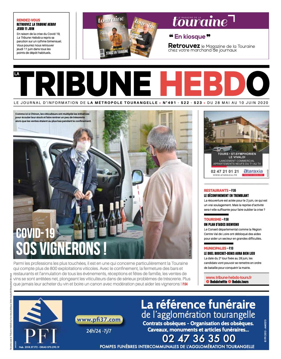 Tribune Hebdo Tours N°491