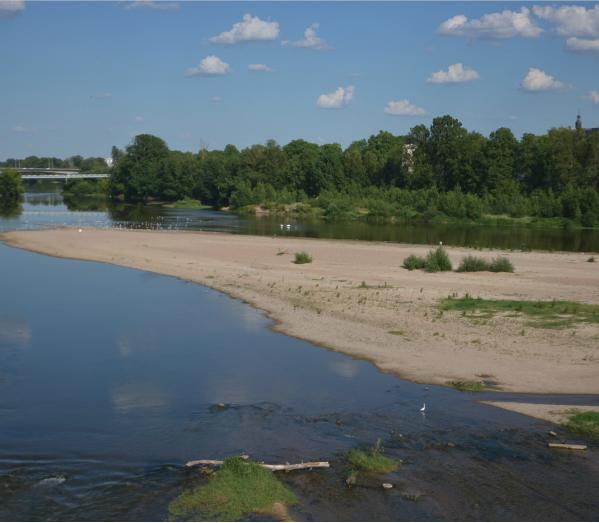 La Loire affiche des eaux basses avant même le début de l'été.