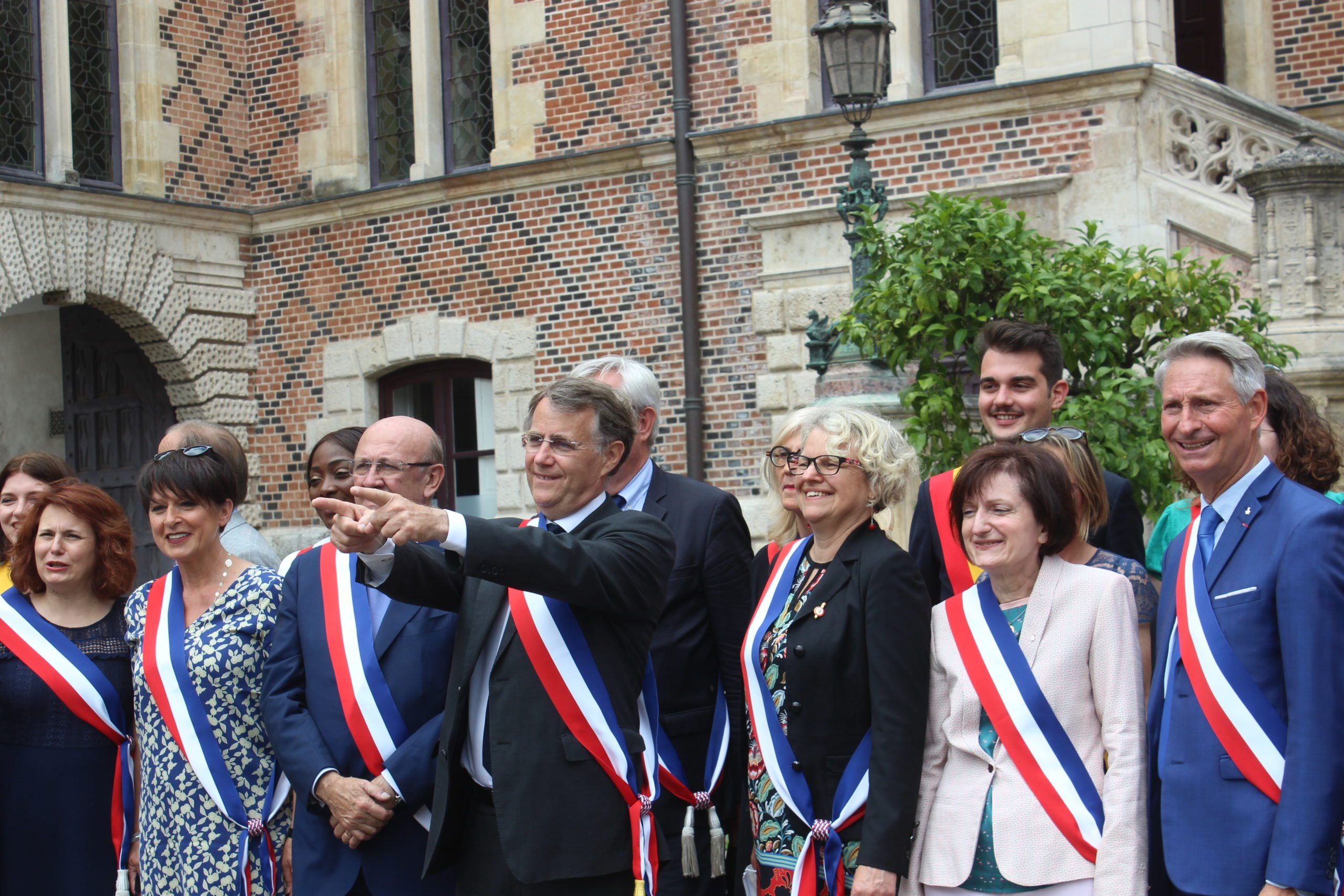 Serge Grouard est redevenu, ce samedi, maire d'Orléans