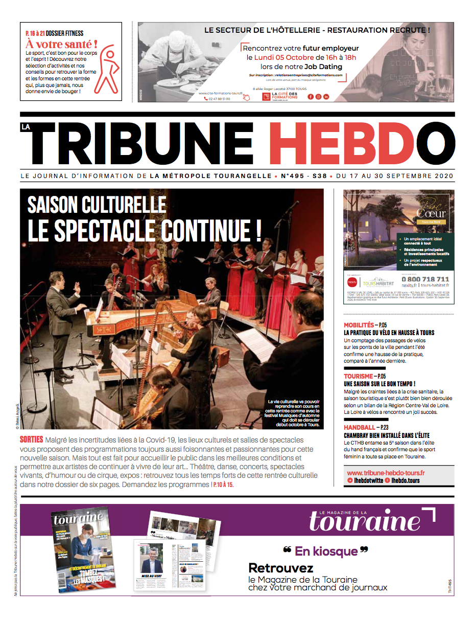 Tribune Hebdo Tours N°495