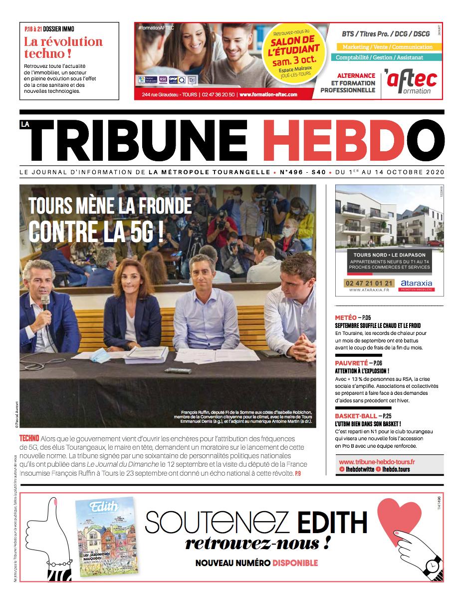 Tribune Hebdo Tours N°496