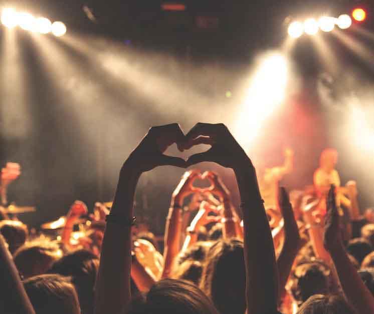 Les concerts debout sont à genoux