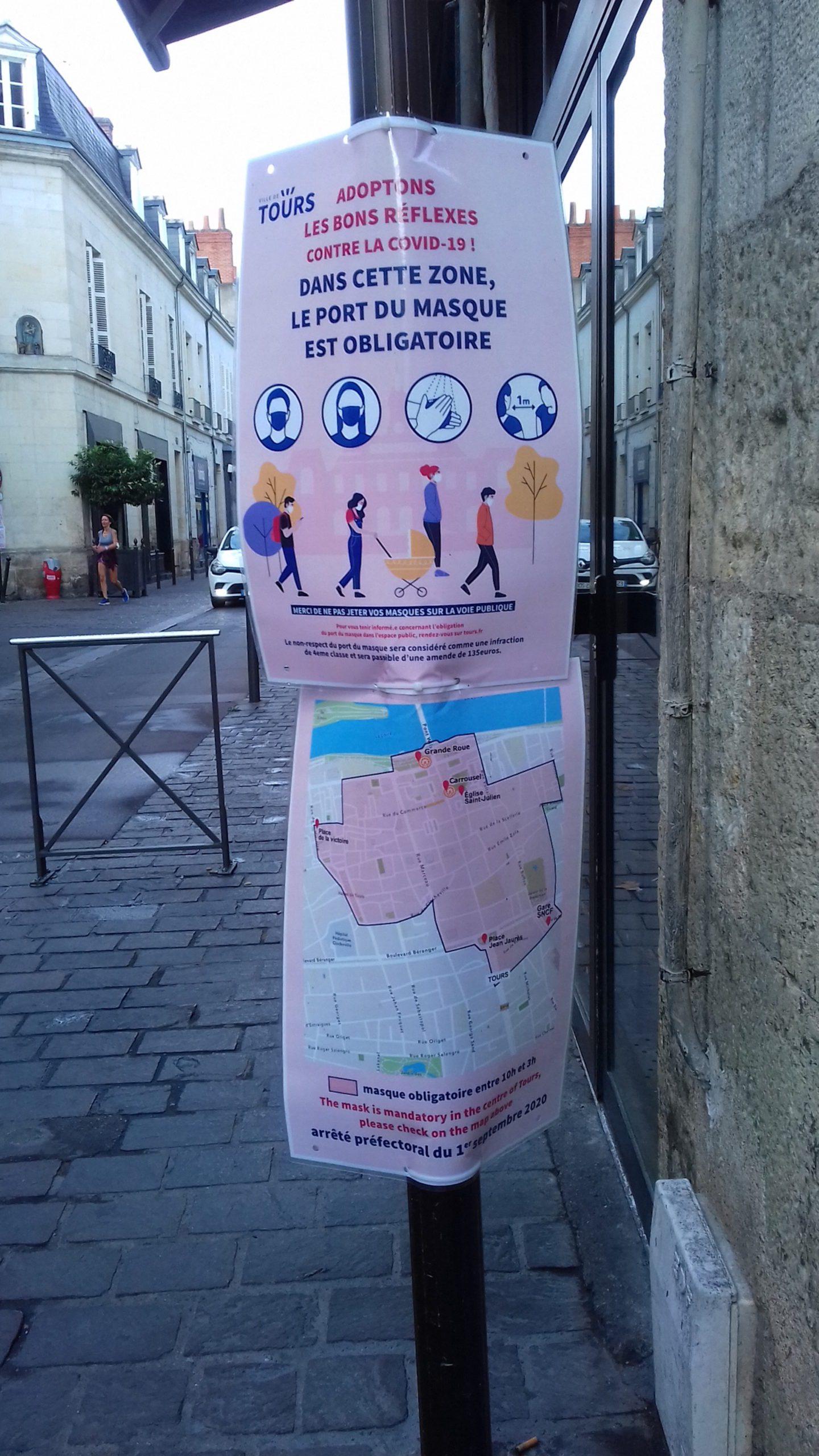 COVID 19 : les mauvais chiffres de la pandémie en Indre-et-Loire