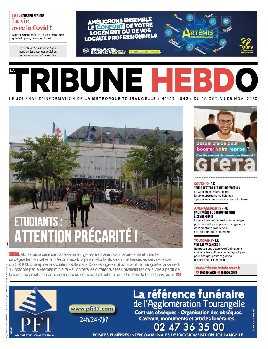 Tribune Hebdo Tours N°497