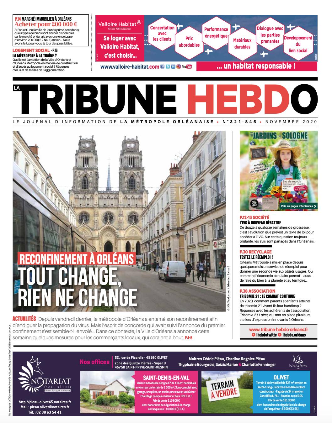 Tribune Hebdo N°321