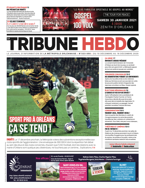 Tribune Hebdo N°323