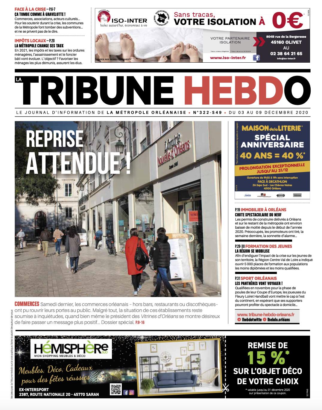 Tribune Hebdo N°322