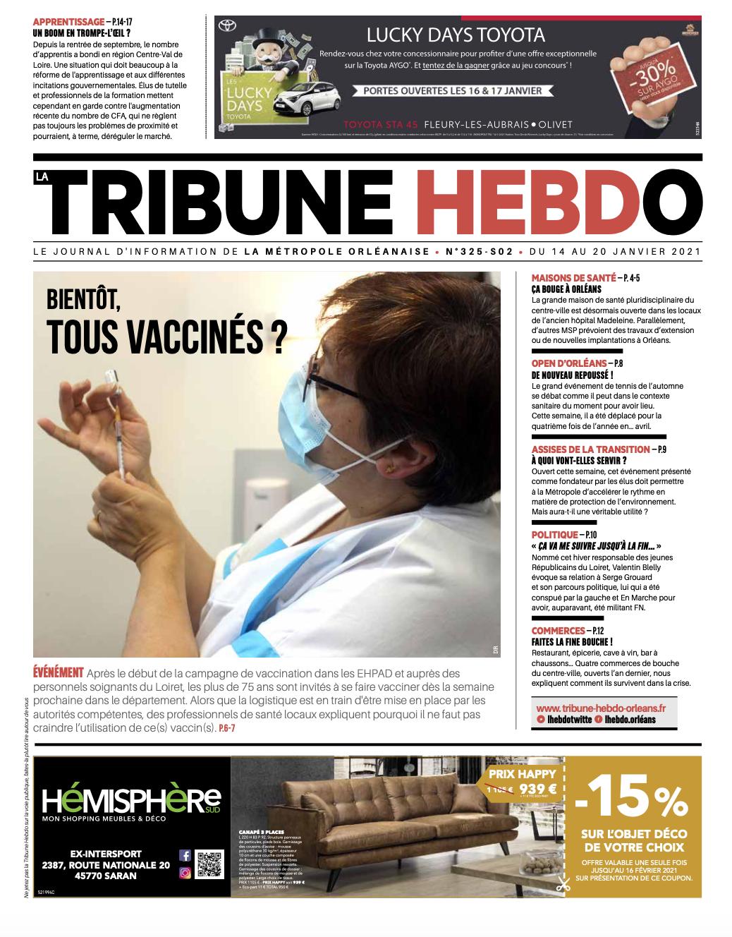 Tribune Hebdo N°325