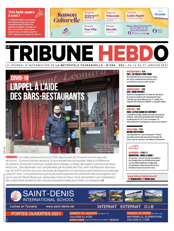 Tribune Hebdo Tours N°500