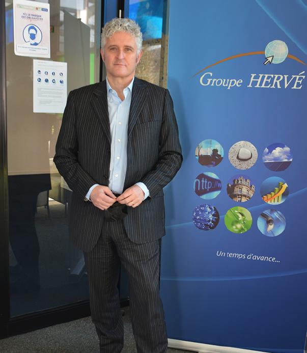 Emmanuel Hervé, président du directoire du groupe familial.
