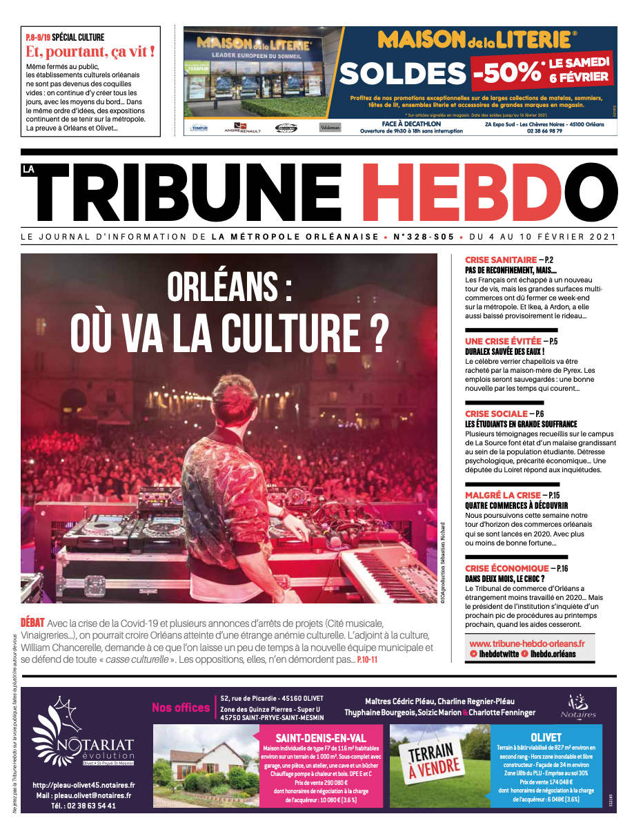 Tribune Hebdo N°328