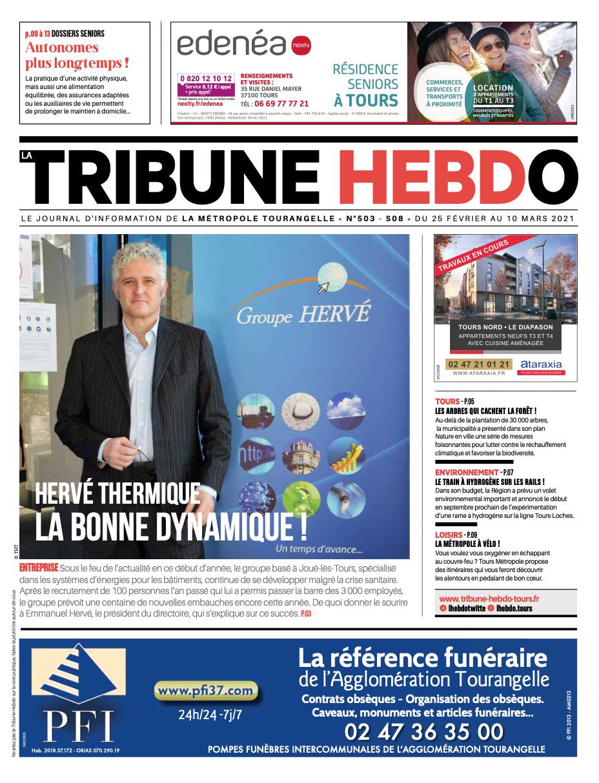 Tribune Hebdo Tours N°503