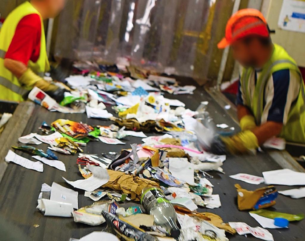 Les déchets recyclables