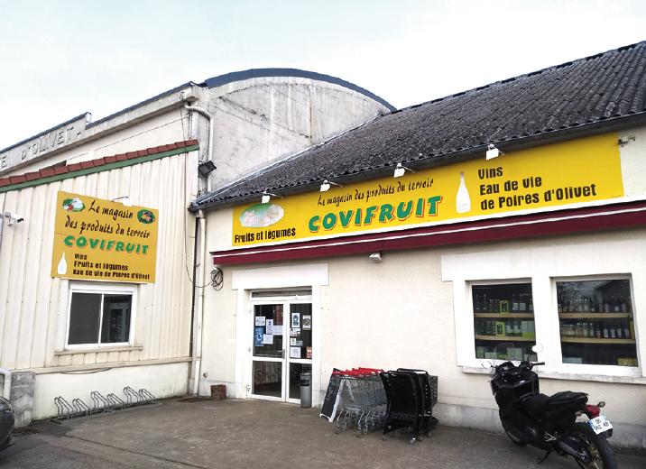 Chez Covifruit, à Olivet.
