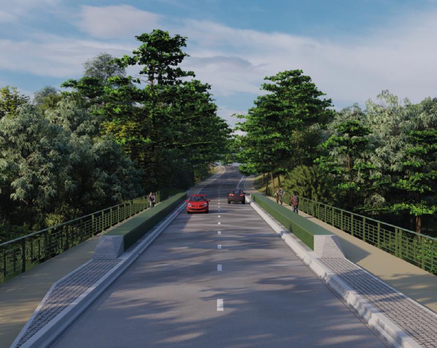 Voilà à quoi devrait ressembler le pont Cotelle, une fois les travaux achevés.
