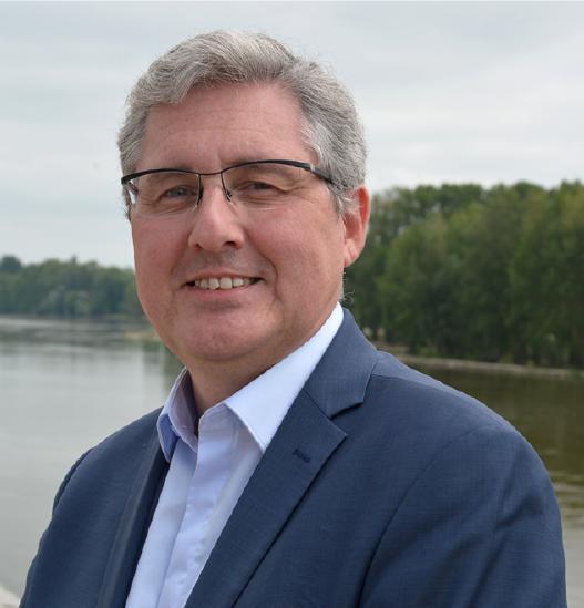 Pascal Tebibel, vice-président de la Métropole en charge de l'attractivité.