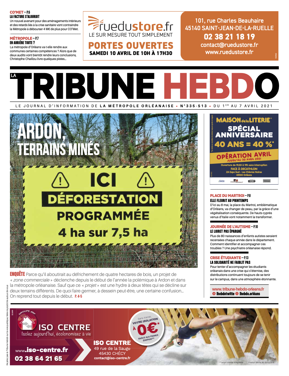 Tribune Hebdo N°335