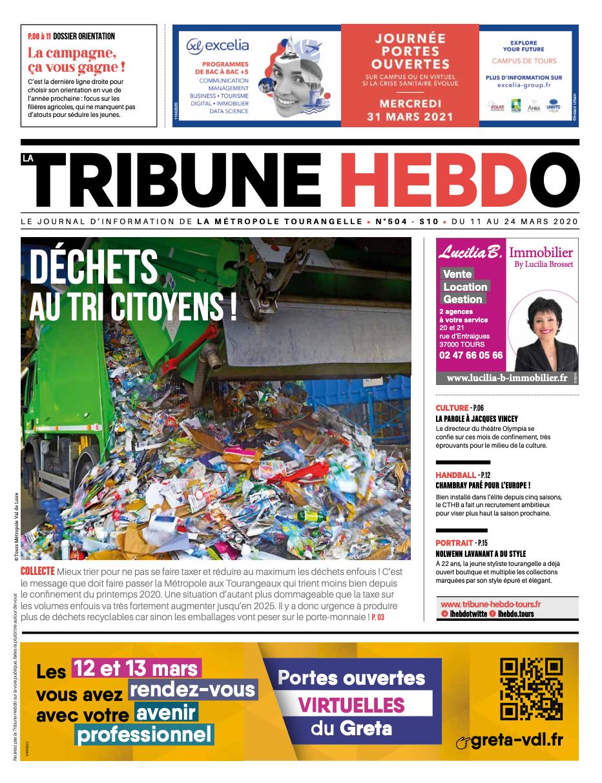 Tribune Hebdo Tours N°504