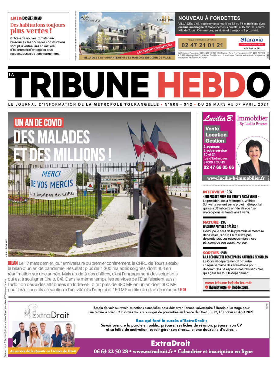 Tribune Hebdo Tours N°505