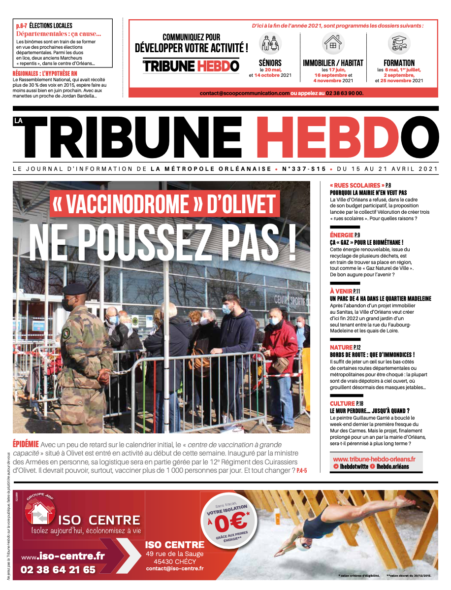 Tribune Hebdo N°337