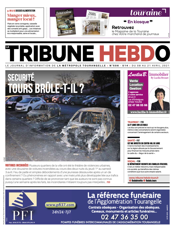 Tribune Hebdo Tours N°506