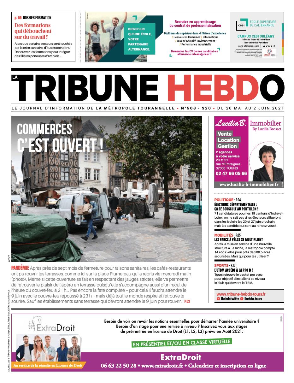 Tribune Hebdo Tours N°508