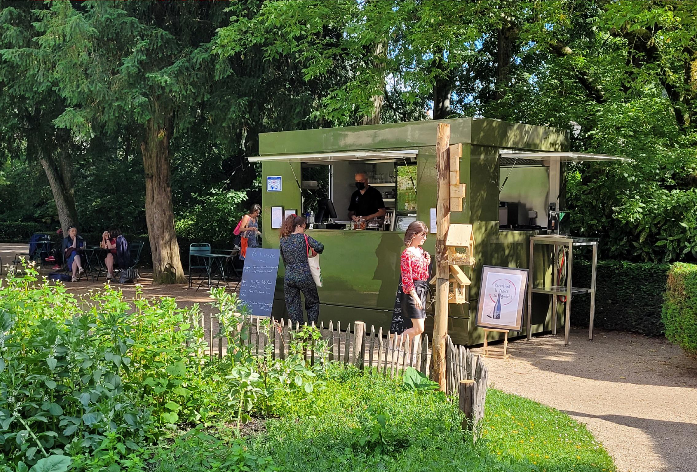Le Kiosk du jardin du Musée des Beaux-Arts