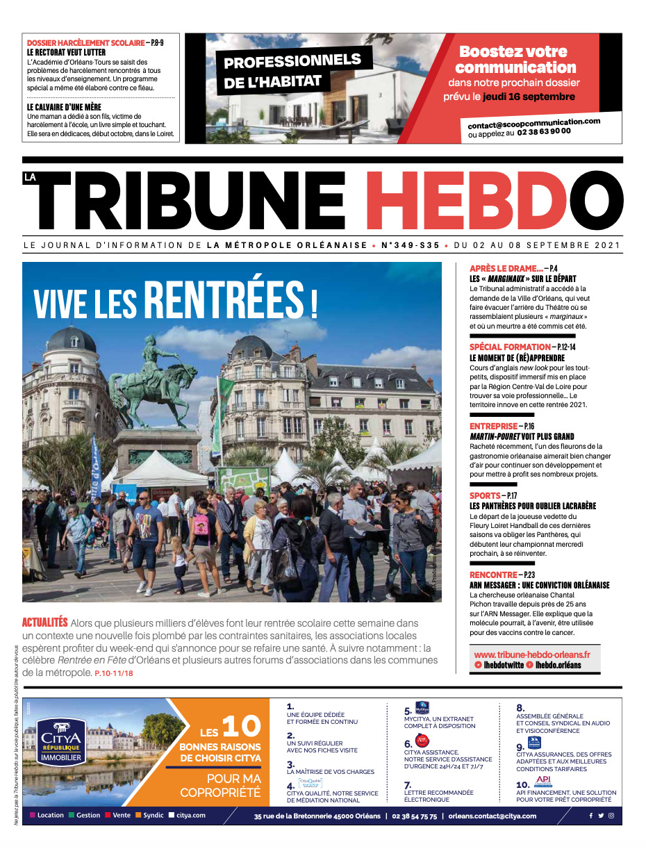 Tribune Hebdo N°349