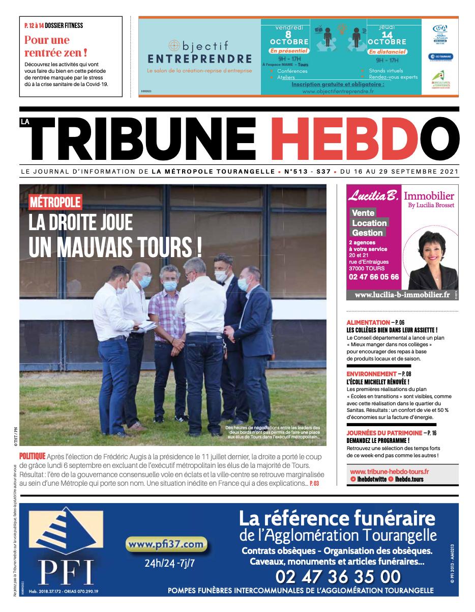 Tribune Hebdo Tours N°513