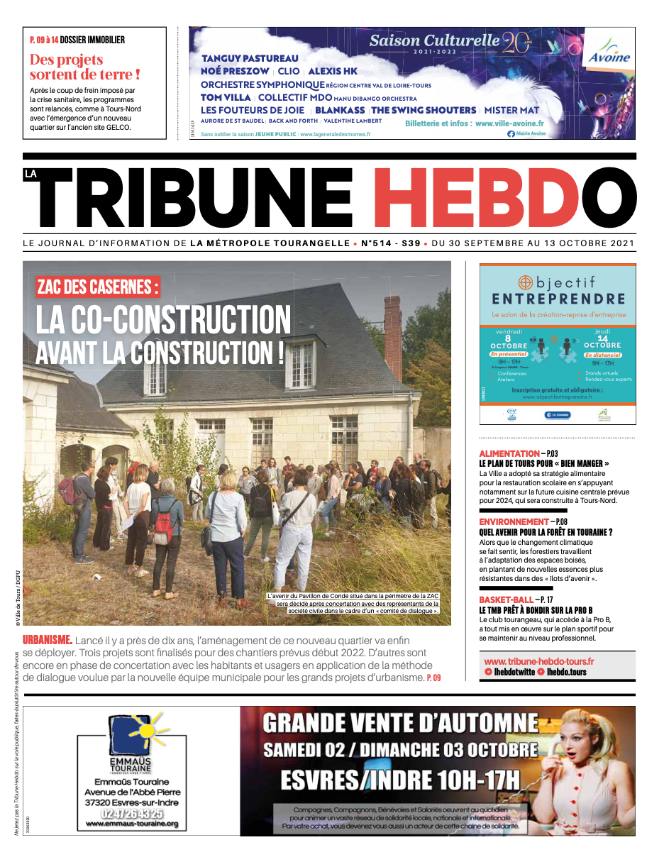 Tribune Hebdo Tours N°514