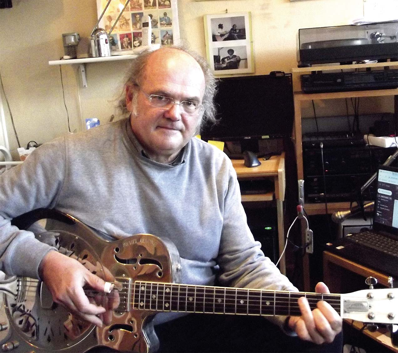 Michel Lelong Blues old cool
